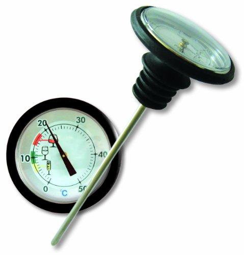 Sunartis T815W Weinthermometer mit Flaschenverschluss