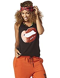 Zumba Fitness–Women's Yell It Out Ribbed Racerback woman Tops, Womens, Yell It Out Ribbed Racerback