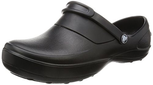 Crocs Mercy Work, Damen Clogs, Schwarz (Black/Black), 39/40 EU