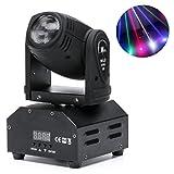 Top-Uking Moving Heads LED Licht Sound aktiviert Master/Slave Auto läuft 11/13 Kanäle Lichtseffekt Strahler für Weihnachten Disco und Party