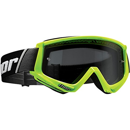 Thor Combat Sand Goggle Crossbrille Grün Motocrossbrille Offroad Enduro Quad ATV MX SX BMX FR DH Motocross Cross Brille getöntes glas