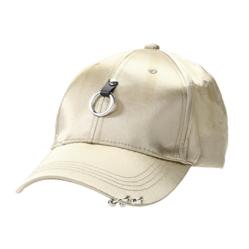 Unisex Snapback Adjustable Baseball Cap Hip Hop Hat Cool Bboy (Champagne) - Bboy-baseball-cap