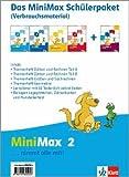 MiniMax. Schülerpaket Verbrauchsmaterial 2. Schuljahr. Ausgabe für Bayern