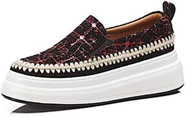 TTscarpe Per Donna Scarpe Scarpe Scarpe Montone Estate Comoda scarpe da ginnastica Piatto Punta Tonda Giallo Rosso,rosso,US6 EU36 UK4 CN36 | Design professionale  db9efb