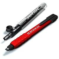 Striker Hand Tools 77629 Crayon Mécanique de Charpentier/Menuisier Plus Besoin de Tailler, Pencil