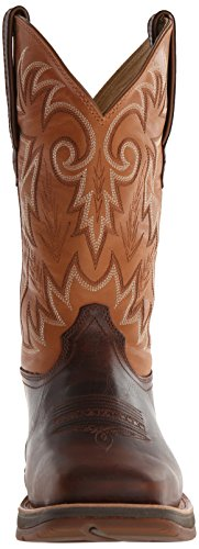 "Durango 12"" Ramped Up Rebel Large Cuir Santiags brown"