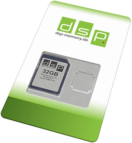 DSP Memory Z-4051557389472 32GB Speicherkarte für Panasonic Lumix DMC-FT5EG-D - 5