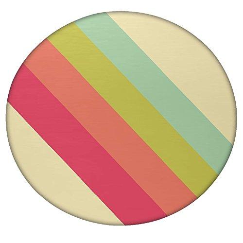 Pastell Streifen Vector rund Mandala Tapisserie Hippie, Hippie-Stil, Überwurf Betten Tagesdecke,...