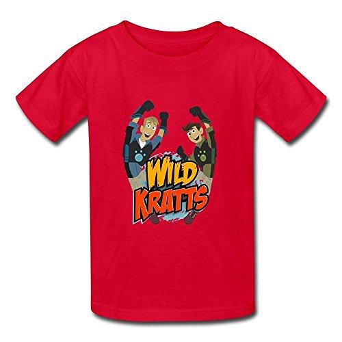 Kid's Geek Wild Kratts T-shirts Medium (Kratts Shirts Wild)