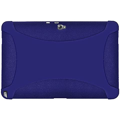 Amzer Silicone Skin Jelly Case Cover for 10.1 inch Samsung Galaxy Note GT-N8000/N8010 - Blue