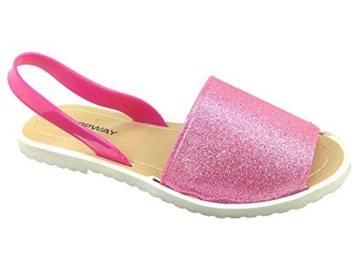 Foster Footwear , Damen Sandalen Rose