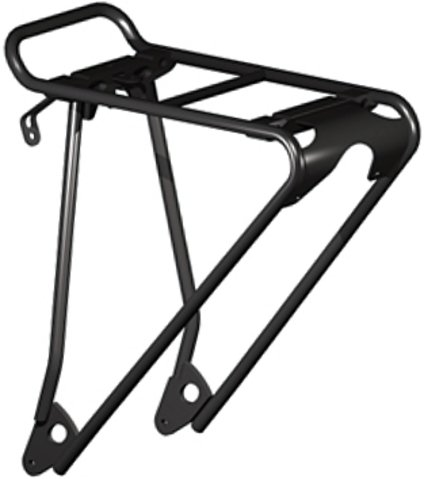 Racktime Topit System-gepäckträger, schwarz, 45 x 25 x 20 cm (Bike Rack-befestigung)