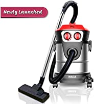 Inalsa Vacuum Cleaner Wet and Dry Micro WD21-1600W with 3in1 Multifunction Wet/Dry/Blowing|Hepa Filteration &a