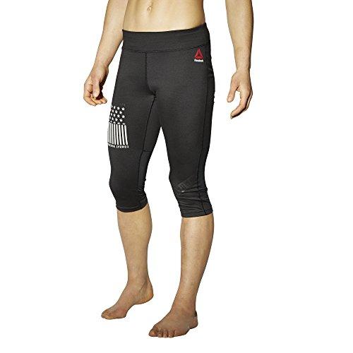 Reebok Pantalon de survêtement tlaf Capri Noir - noir