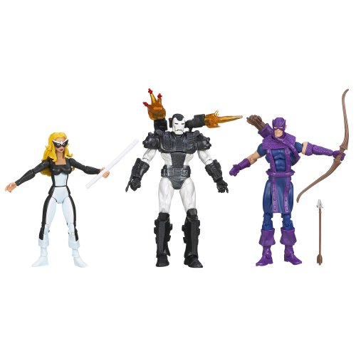 Marvel Universe West Coast Avengers Set: Mockingbird, Hawkeye und War Machine