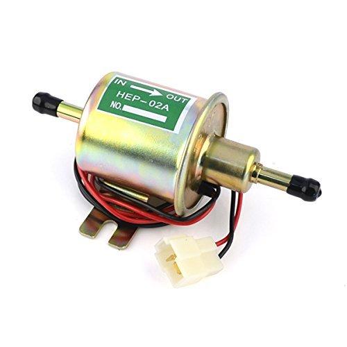 Preisvergleich Produktbild Idealeben 12V Universal Kraftstoffpumpe Elektronik Benzin Diesel Benzinpumpe Öl Pumpe Elektro-Pumpe