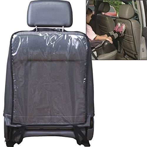 FASH LADY Autositz Cover-Rückseite Protektoren Schutz für Kinder yProtect Auto Sitze Wache ClearAnti-Kick-Mat Mud Cl: Schwarz
