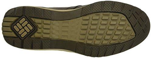 Columbia Davenport Waterproof Leather, Chaussures à Lacets Homme Noir (Cordovan/Saddle 231)