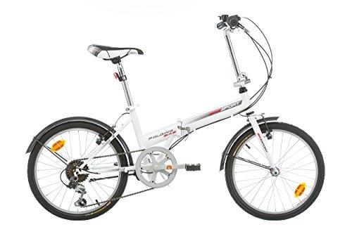 "BIKE SPORT LIVE ACTIVE Bikesport Folding Bicicletta Pieghevole 20\"" (Gloss Bianco)"