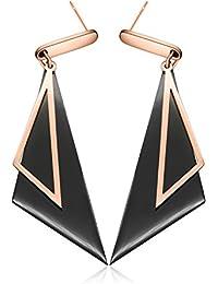 86a691c8889d Twinmond Women Earrings Jewellery Rose Gold Drop Party Wedding Dangle  Earrings set for Women Girls Gift