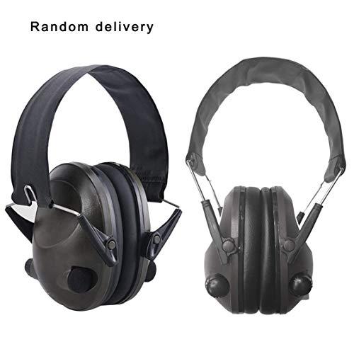 LouiseEvel215 6S Faltbare Design Anti-Noise Noise Cancelling Tactical Shooting Headset Gepolsterte elektronische Ohrenschützer für die Sportjagd