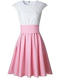 Amazon.it  Pizzo - Vestiti   Donna  Abbigliamento f49db0b89ef