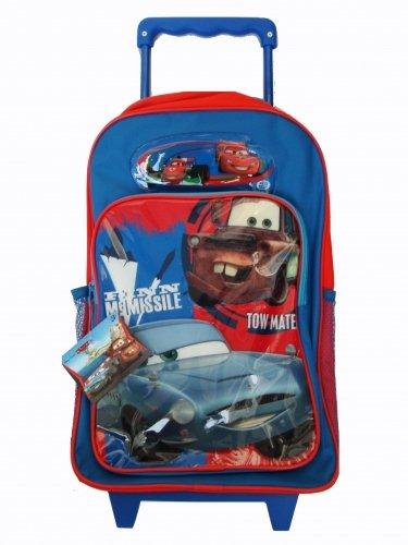 Disney Cars Finn McMissile Rädern Tasche