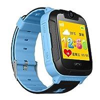 SENTAR V80-07S 3G GPS Telefon Özellikli Akıllı Çocuk Takip Saati (Mavi)