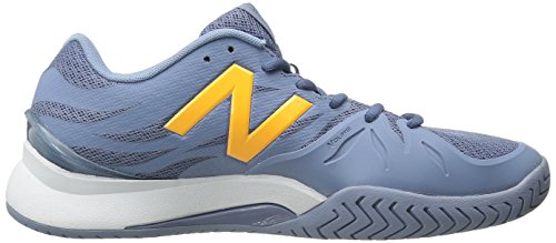 New Balance Women's 1296v2 Tennis Shoe, Grey, 10 D US Grey