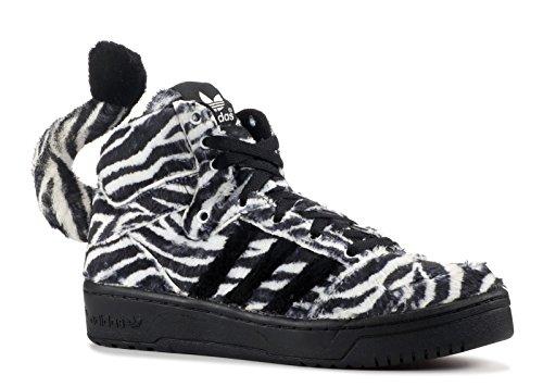 adidas Jeremy Scott Hommes Sneakers JS ZEBRA noir/blanc G95749 black1, runwht, blk1
