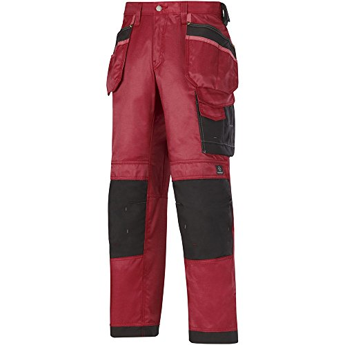 Snickers Workwear Arbeit–pantoloni, rot, 32121604158 chili red