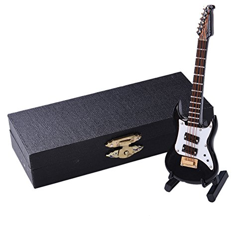 rsten Mini Modell Musikinstrumente Collection dekorativen Ornamenten Electric Guitar (Gitarren-ornamenten)
