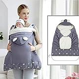 Jannyshop Babytrage Baby Winddicht Mantel Baby Dicken Warmen Schlafsack Multifunktionale Verstellbare Kinderwagendecke