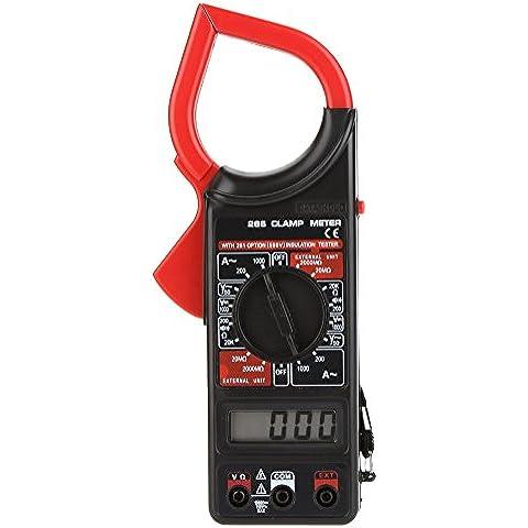 266 Rivalty (TM)-Multimetro digitale AC/DC, voltmetro e amperometro Ohmmeter isolamento AC-Tester misuratore di corrente, resistenza Uni-t