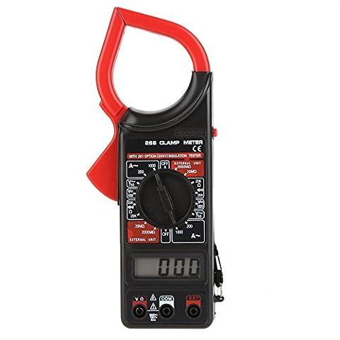 sprigy (TM) 266Digitale Strommesszange AC/DC Voltmeter AC Amperemeter Ohmmeter Isolationsmessgerät aktuellen Widerstand Uni T Meter