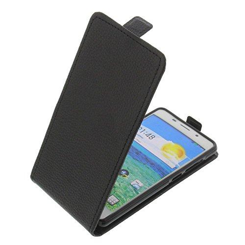 foto-kontor Tasche für Cubot X9 Smartphone Flipstyle Schutz Hülle schwarz