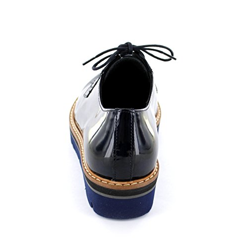Gabor Chunky Lace Up Donington 51.474 NVY PATENT