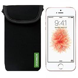KOMODO Neoprene Pouch Case for IPhone SE/Sock/Pocket/Slim Cover/Shock/Sleeve/Skin