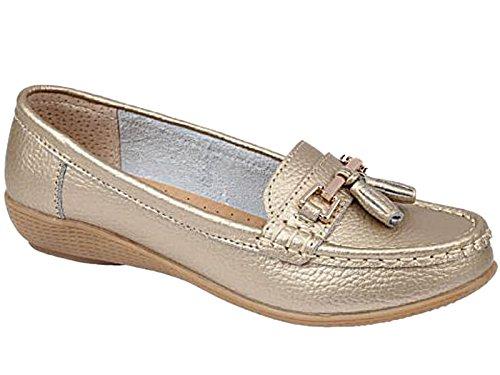 Foster Footwear , sandales femme fille Doré