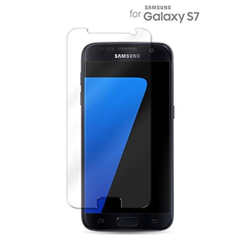 Hartglas Schutzfolie Samsung Galaxy S7, eProte® Gehärtetem Glass Folie für Samsung S7 / S7 Duos 5.1 Zoll - 9H Glashärte, Anti-Schock, Kratzfeste und Ölabweisende Beschichtung, Einfach zu säubern, HD Transparenz und Feingefühl