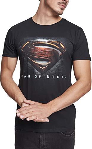 MERCHCODE Herren MOS Superman T-shirt black L