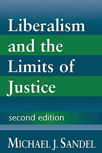 [(Liberalism and the Limits of Justice)] [By (author) Michael J. Sandel] published on (May, 1998)