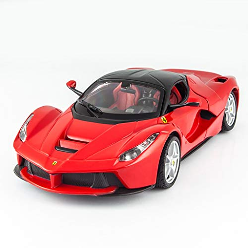 XINGPING-TOY Ferrari Car Model 1:24 Simulación Original Alloy Car Model Sports Car Laferrari Regalo Masculino (Tamaño : Rafah Red 039)