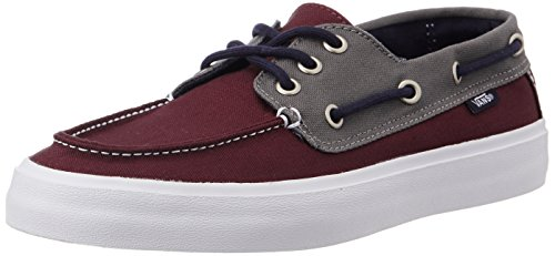Vans vn00019chqf Men S 2 Tone Windsor Wine And Pewter Sneakers 10 Uk India  44 5 Eu 11 Us- Price in India d458036aa