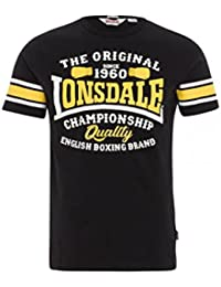 Lonsdale London Hombres Ropa Superior/Camiseta Congleton Slim Fit