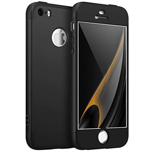 Funda iPhone 5/5S/SE Cubierta 360 Grados Caja protección
