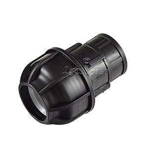 Agora-Tec® 32mm PE-Rohr Verschraubung Fitting Kupplung auf 1 Zoll IG (30,3mm)