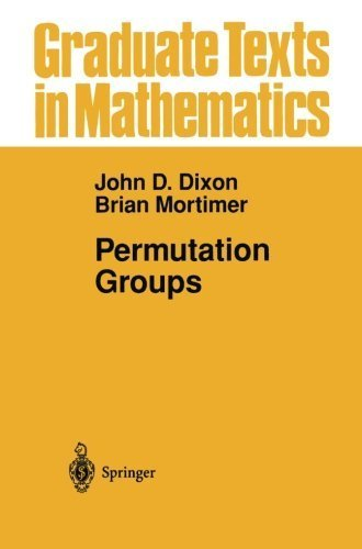 Permutation Groups (Graduate Texts in Mathematics) by John D. Dixon (2012-09-30)