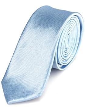 Cravatta DonDon Uomo 5 cm di larghezza - disponibile in diversi colori