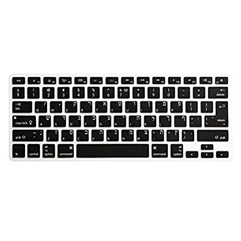 Zhuhaitf Accessoires Informatiques Keyboard Case Protector Film Ultra-thin Soft Silicone for Macbook Air/Pro 13